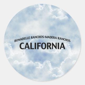 Bonadelle Ranchos-Madera Ranchos California Classic Round Sticker