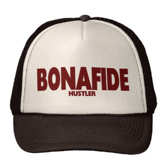 BONAFIDE ..... HUSTLER MESH HATS