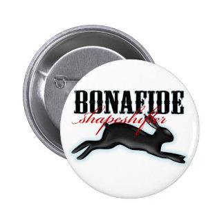 Bonafide Shapeshifter-Rabbit 2 Inch Round Button