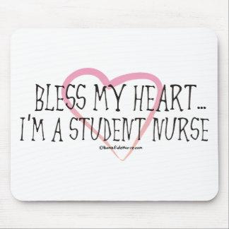 BonafideNurse_-_Bless_my_Heart_I'm_a_student Mouse Pad