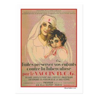 BonafideNurse_-_French_Nurse_Poster_Tuberculosis2 Postcard