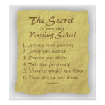 BonafideNurse_-_Secret_to_Surviving_Nursing_School Posters
