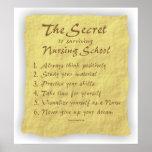 BonafideNurse_-_Secret_to_Surviving_Nursing_School Print