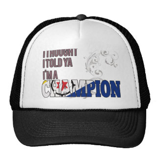 Bonaire and a Champion Trucker Hat