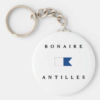 Bonaire Antilles Alpha Dive Flag Key Chains