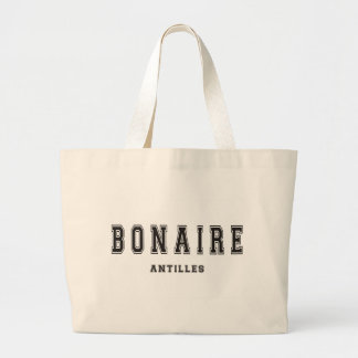 Bonaire Antilles Large Tote Bag