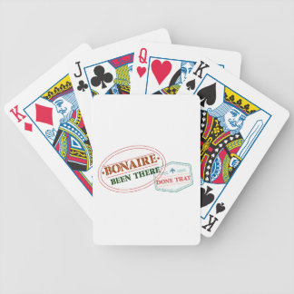 Bonaire Been There Done That Bicycle Playing Cards