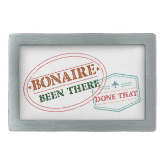 Bonaire Been There Done That Rectangular Belt Buckle