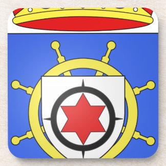 Bonaire Coat of Arms Beverage Coaster