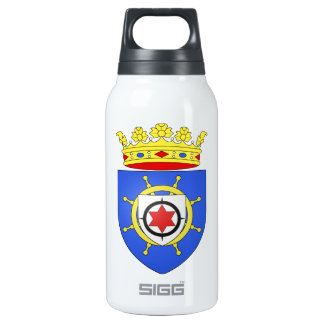 Bonaire Coat of Arms Insulated Water Bottle