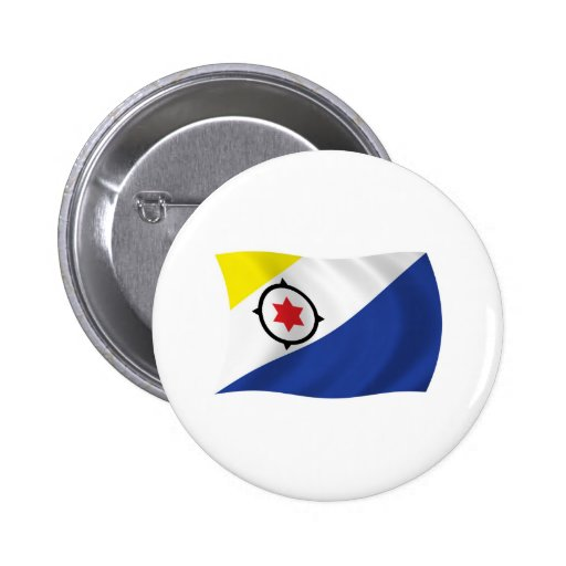 Bonaire Flag Button