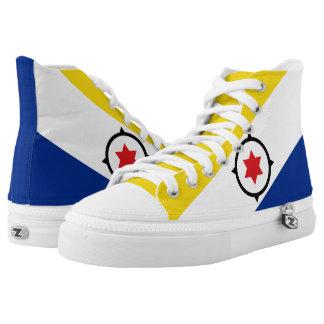 Bonaire Flag High-Top Sneakers