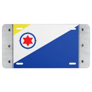 Bonaire Flag License Plate