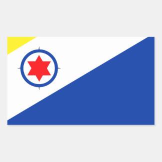 Bonaire Flag Rectangular Sticker