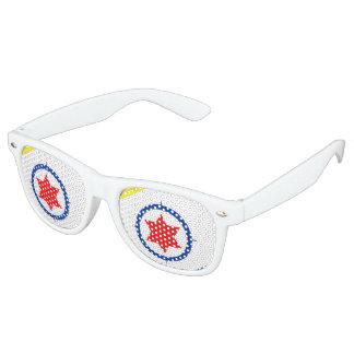 Bonaire Flag Retro Sunglasses