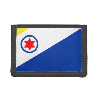 Bonaire Flag Trifold Wallets