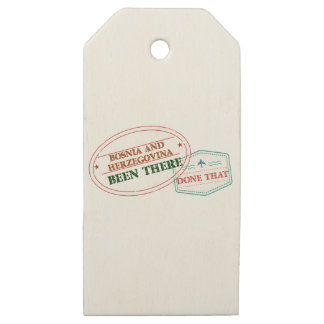 """""""Bonaire girls"""""""" Been There Done That """"""""countrie Wooden Gift Tags"""