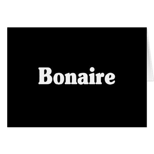 Bonaire Greeting Cards