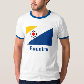 Bonaire in Papiamento Flag with Name T-Shirt