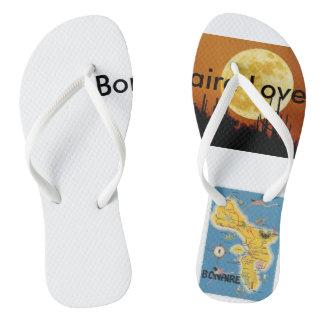 Bonaire lover flip flops
