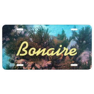 Bonaire Placa De Matrícula