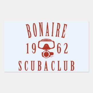 Bonaire Scuba Club Rectangular Stickers