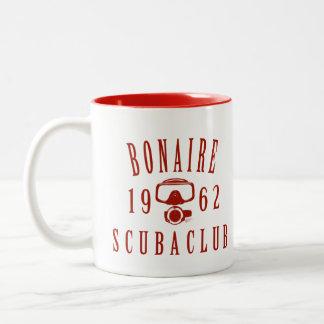 Bonaire Scuba Club Two-Tone Coffee Mug