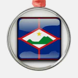 Bonaire, Sint Eustatius and Saba Metal Ornament
