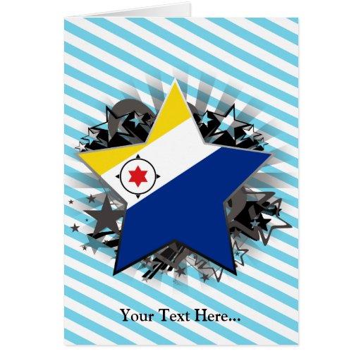 Bonaire Star Greeting Card