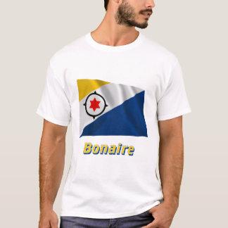 Bonaire Waving Flag with Name T-Shirt