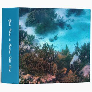 Bonairean Reef Customizable 3 Ring Binder