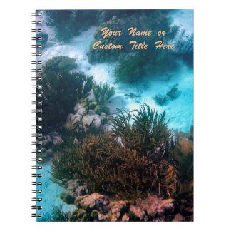 Bonairean Reef  Personalized Spiral Notebook