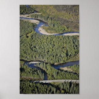 Bonanza Creek and Dalton Highway Posters