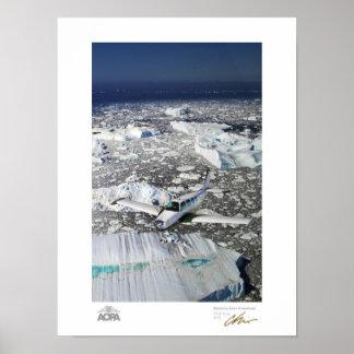 Bonanza Over Greenland Poster