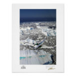 Bonanza Over Greenland Print