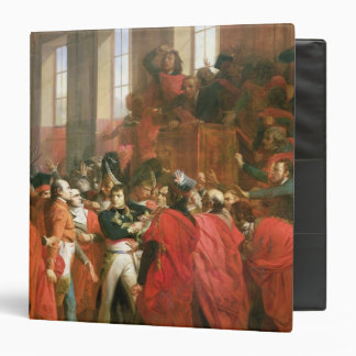 Bonaparte and Council of Five Hundred at St. Binder