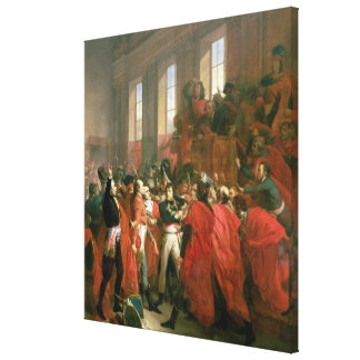 Bonaparte and Council of Five Hundred at St. Canvas Print