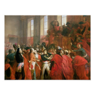 Bonaparte and Council of Five Hundred at St. Print