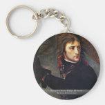 Bonaparte At The Bridge Of Arcola Key Chain