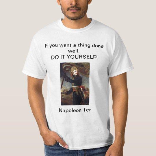 Bonaparte at the Pont d'Arcole T-Shirt