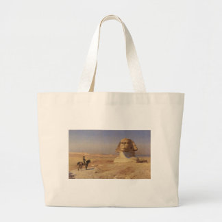 Bonaparte Before The Sphinx Tote Bags