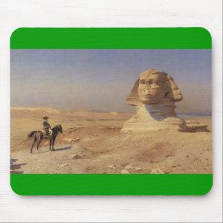 Bonaparte Before the Sphinx ca.1868-J.L.Gerome pad Mouse Pad