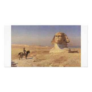 Bonaparte Before the Sphinx ca.1868 Painting Photo Card
