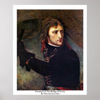 Bonaparte en el puente de Arcola Póster