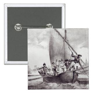 Bonaparte family arriving in Toulon Pinback Button
