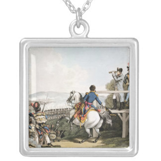 Bonaparte Just before his Flight Silver Plated Necklace