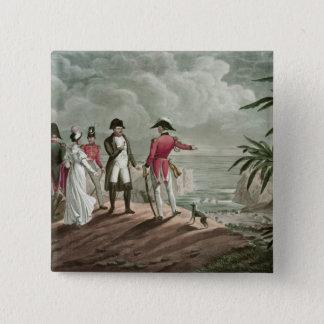 Bonaparte on St. Helena Button