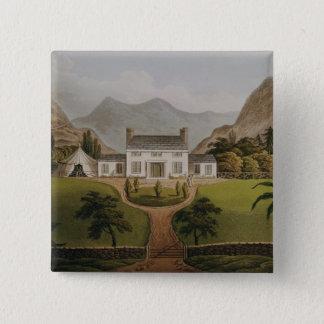 Bonaparte's Mal-Maison at St. Helena, 1821 Button