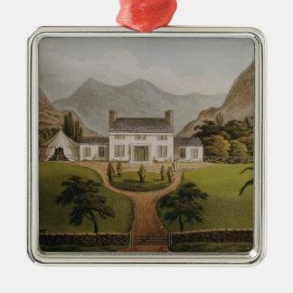 Bonaparte's Mal-Maison at St. Helena, 1821 Metal Ornament