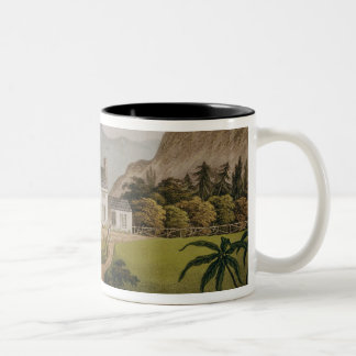 Bonaparte's Mal-Maison at St. Helena, 1821 Two-Tone Coffee Mug
